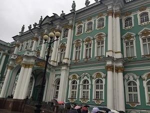 ロシアの旅~サンクトペテルブルグ①_f0233340_14393700.jpg