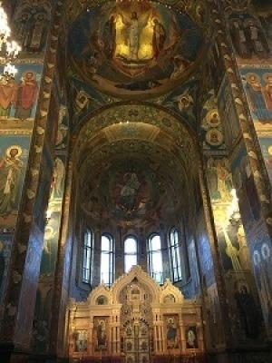 ロシアの旅~サンクトペテルブルグ①_f0233340_14441151.jpg