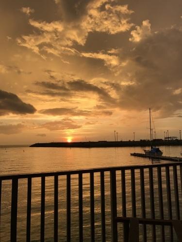 Sunset dinner at the seaside ristorante._c0153966_21493799.jpg