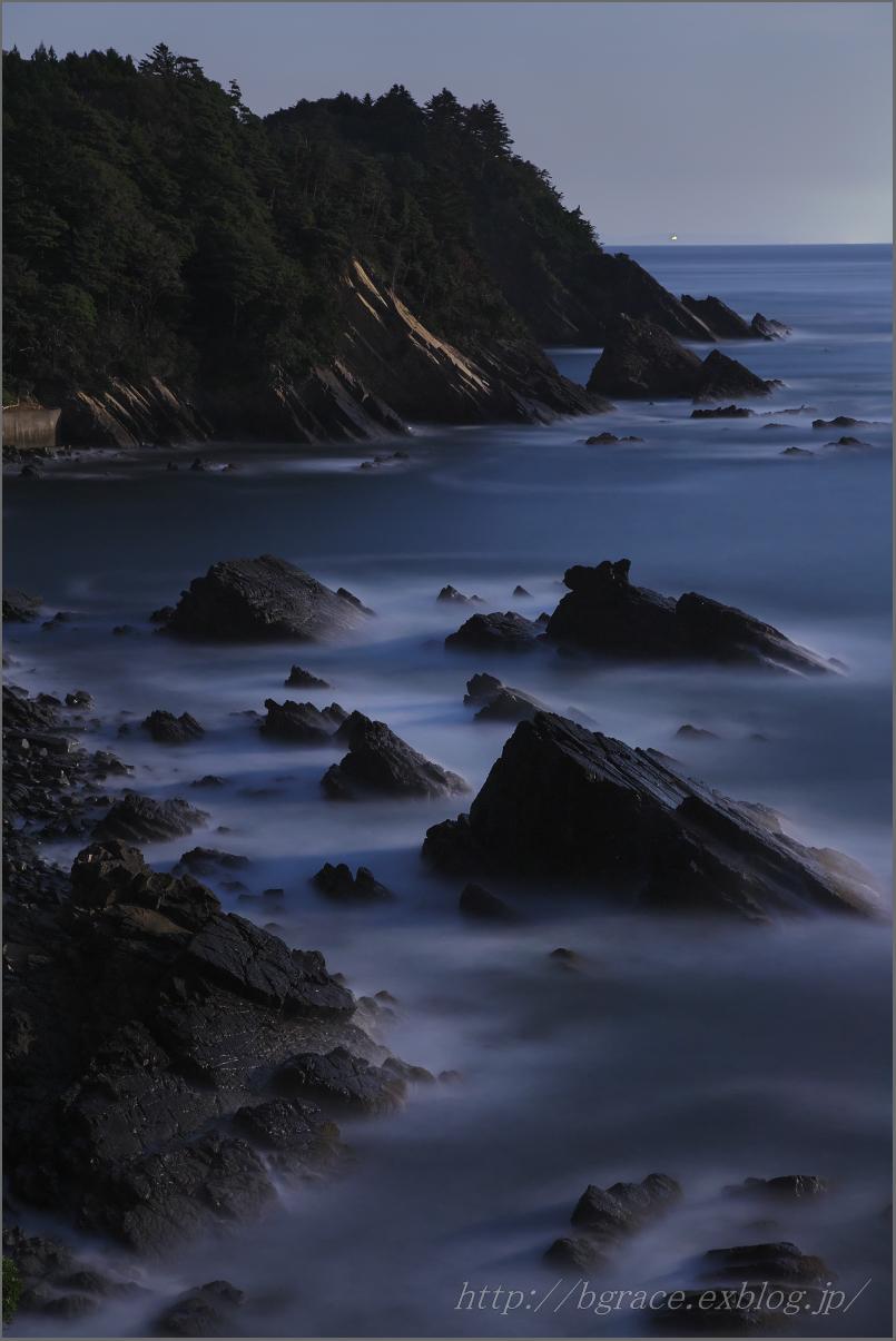 月明かりの三陸海岸_b0191074_20303704.jpg