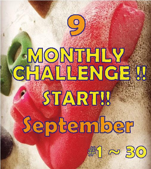 monthly challenge 9月_d0246875_09475675.jpg