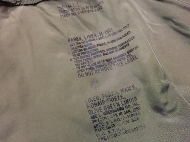 9月13日(水)大阪店冬物ヴィンテージ入荷!#2 U.S.Army Part 1編!Tankers JKT&British Military!_c0078587_2063199.jpg