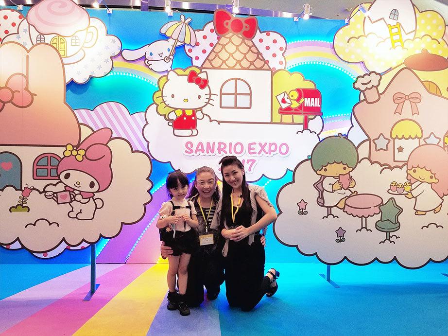 小野先生とSANRIO EXPOへ☆ 娘へのご褒美&私の誕生日(泣)_d0224894_11144915.jpg