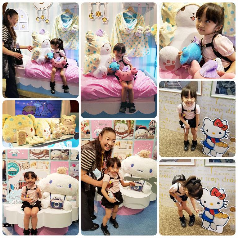小野先生とSANRIO EXPOへ☆ 娘へのご褒美&私の誕生日(泣)_d0224894_11251644.jpg