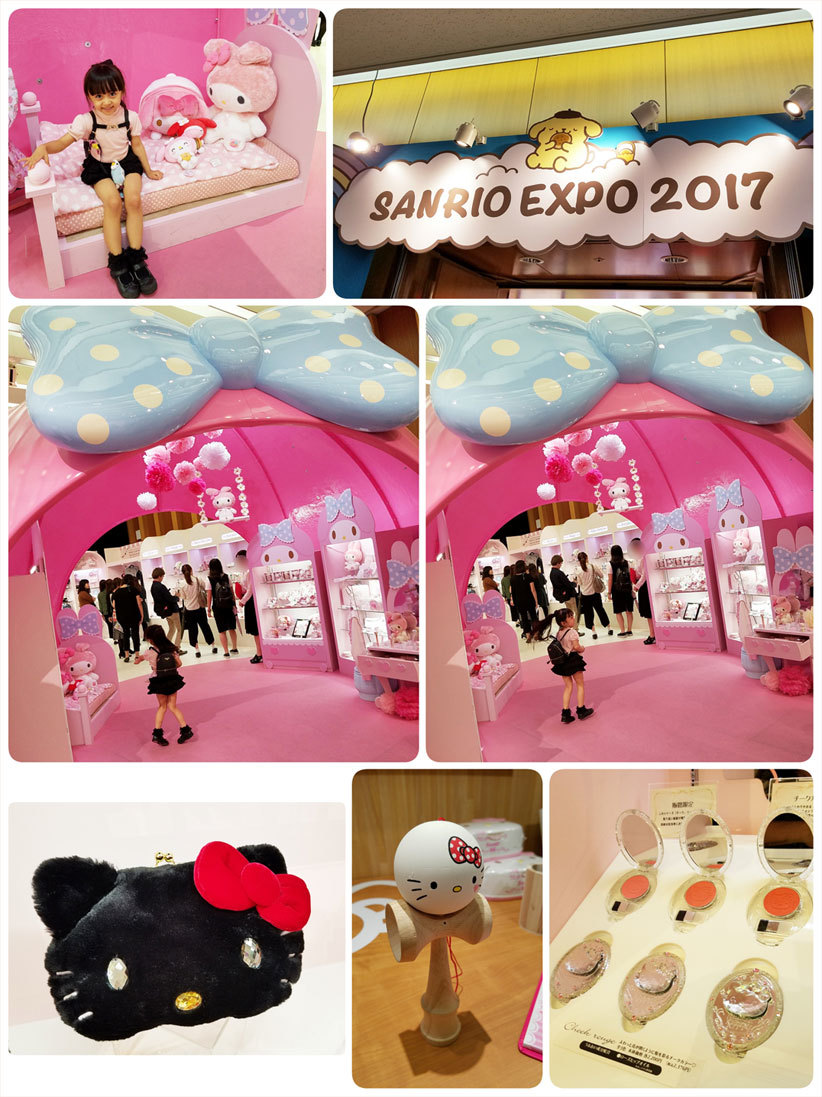 小野先生とSANRIO EXPOへ☆ 娘へのご褒美&私の誕生日(泣)_d0224894_11433072.jpg