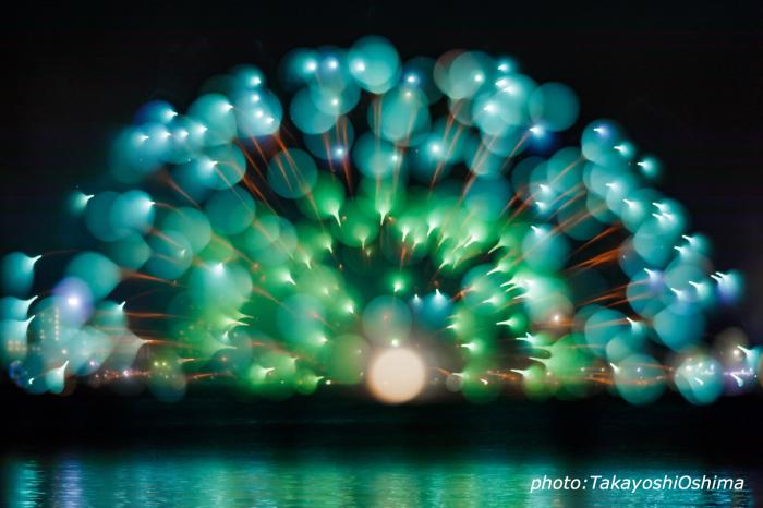 打ち上げ花火普通に撮るかアートに撮るか_f0361287_18133499.jpg