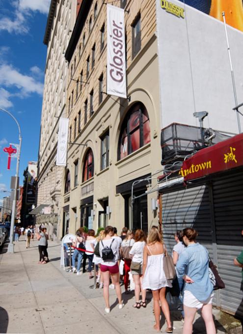 NY生まれの超人気スキンケア&コスメ・ブランド、グロッシエのショールームに行って参りました_b0007805_23363936.jpg