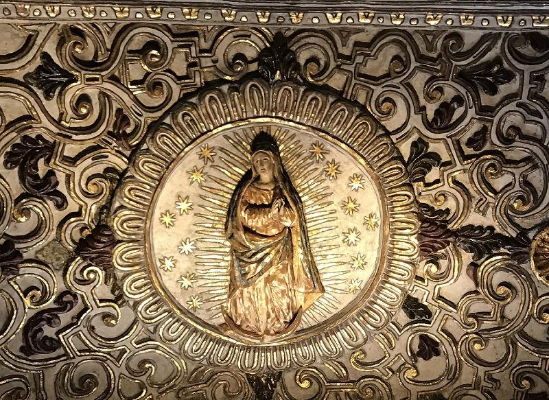 メキシコのゴシック聖堂①トラコルーラにある聖母の被昇天教会_d0116009_09391503.jpg