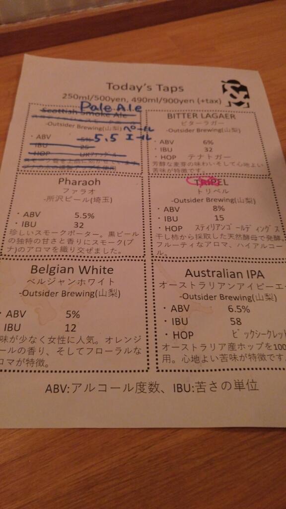 高円寺 アンドビール_c0124528_21562160.jpg