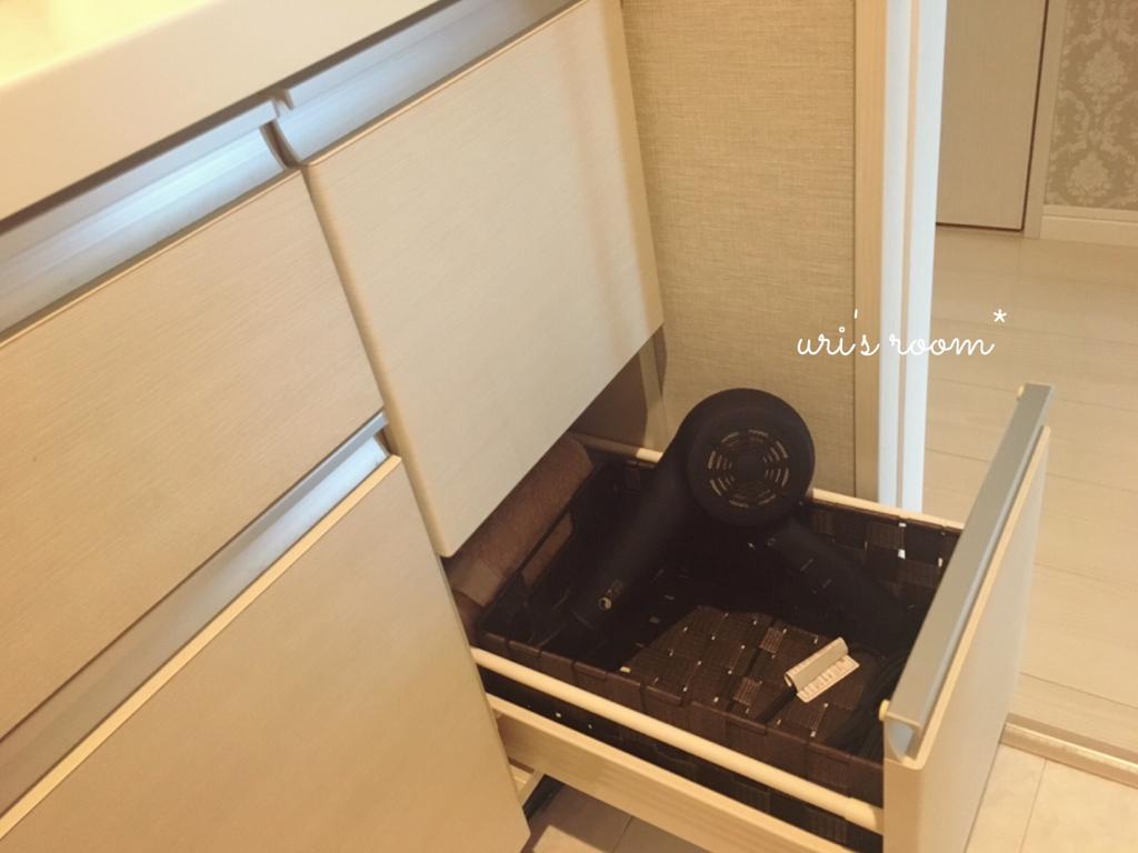 見直した洗面所収納…と、ハイテクドライヤーのその後!_a0341288_21532030.jpg