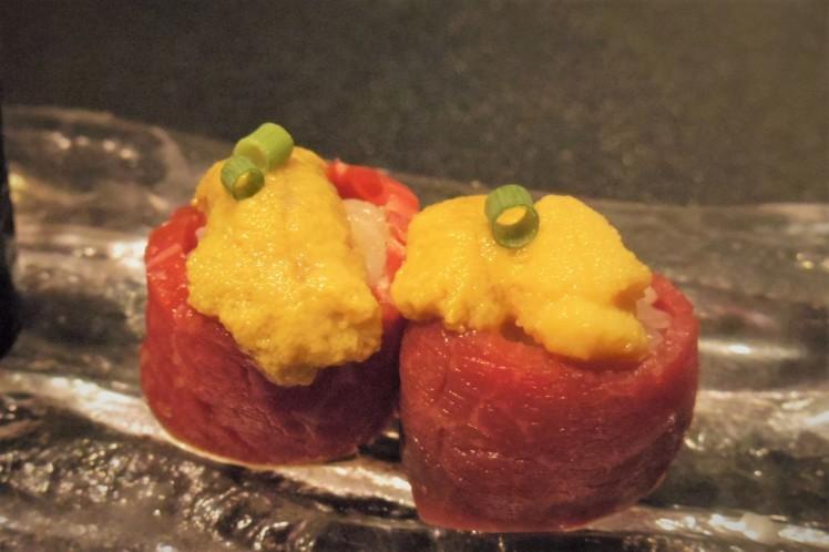 麻布十番「BULLS」大人焼肉ならでは。松茸1本丸ごと使ったビビンパもおススメ。_b0354293_23062080.jpg