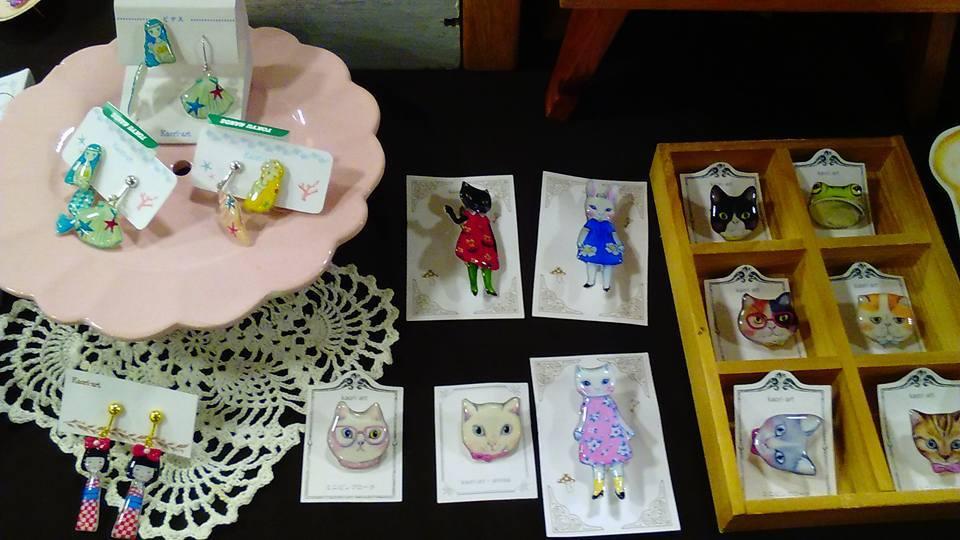 東急ハンズ京都店 クリエーターの可愛い小物マルシェ開催中です。_d0322493_01064759.jpg