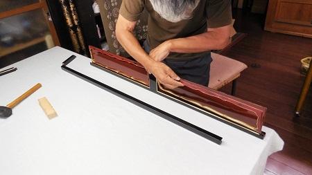 仏壇のすす洗い・修繕 その5 2017.09.12_c0213599_19175512.jpg