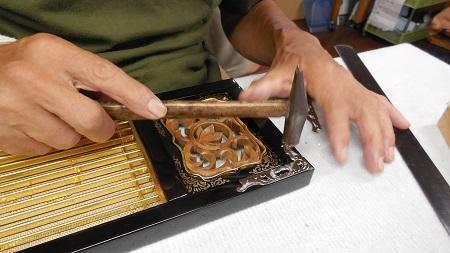 仏壇のすす洗い・修繕 その5 2017.09.12_c0213599_19384632.jpg