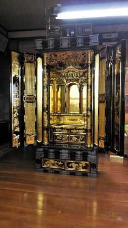 仏壇のすす洗い・修繕 その5 2017.09.12_c0213599_19471219.jpg