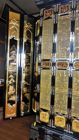 仏壇のすす洗い・修繕 その5 2017.09.12_c0213599_19473052.jpg