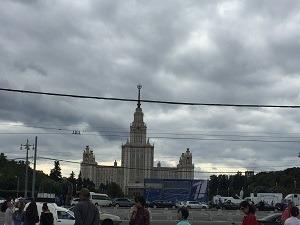 ロシアの旅~モスクワ①_f0233340_12544620.jpg