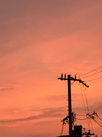 Sunset@Matsugasaki 170829_d0245357_23424167.jpg
