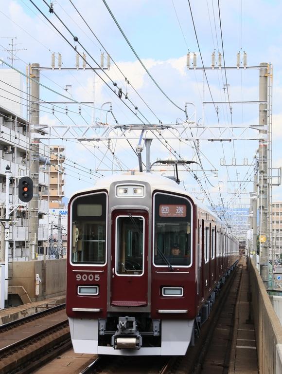 阪急9005F 返却回送_d0202264_1927680.jpg