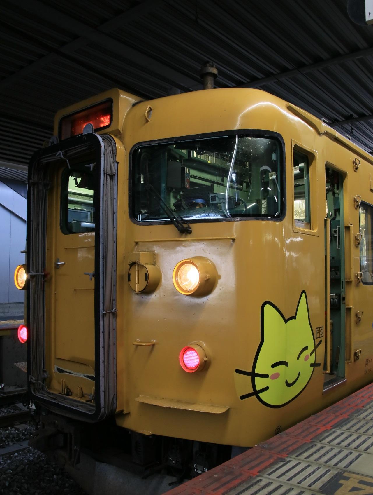 115系 JR 岡山駅にて! _d0202264_4482573.jpg