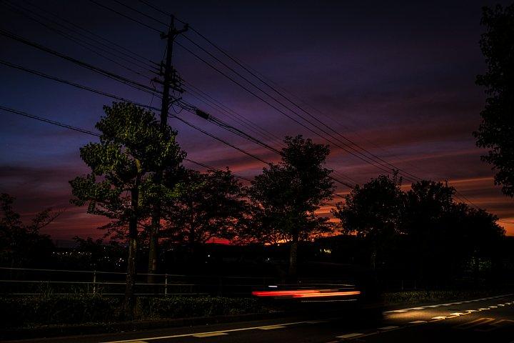 朱から紫へ変わる空_d0353489_19152055.jpg