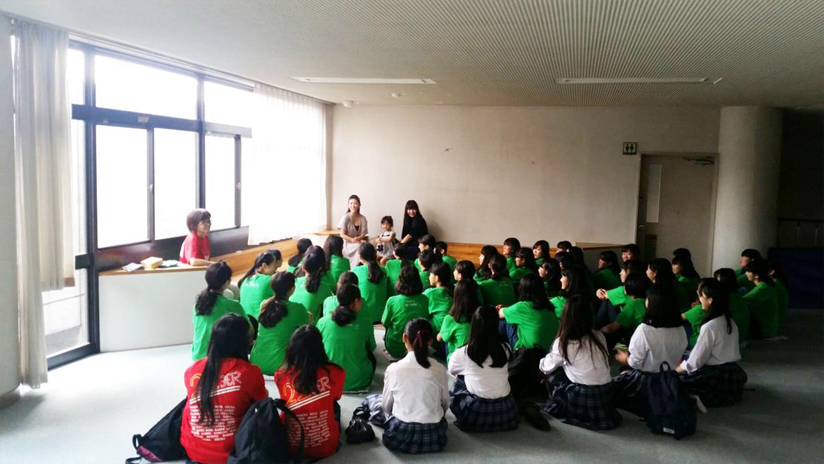 教育現場の生徒chan達…今期初お披露目でした!_d0224894_04452529.jpg