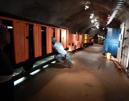 青函トンネル 坑道体験_e0077899_13384854.jpg