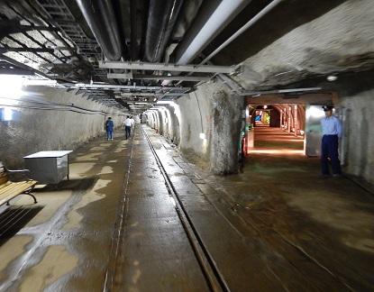青函トンネル 坑道体験_e0077899_1338576.jpg