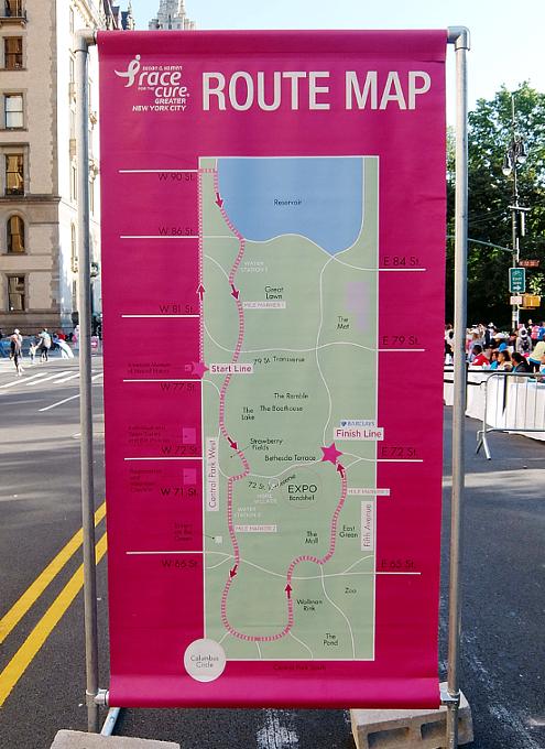 NYで乳がん撲滅のためのマラソン大会、Race for the Cure_b0007805_21261952.jpg