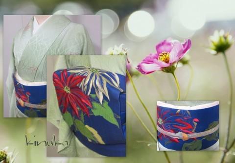菊刺繍でお出かけ!_f0205317_07373461.jpg