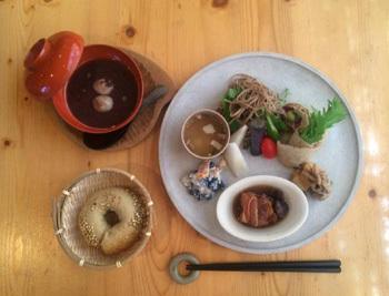 【 桑原典子さんの大好物ぷれーと  -蕎麦と豆尽くし ちどり風- 】が始まりました。_a0251920_10454765.jpg