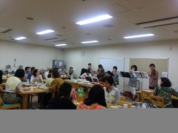 火曜日朝教室 カレーパーティー_e0175020_21291655.jpg