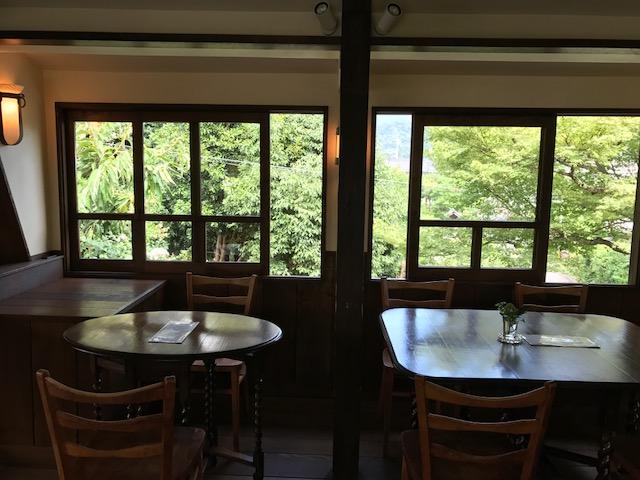 真如堂の近く・秋の気配のレトロなカフェ・吉田山荘・真古館_f0181251_169812.jpg