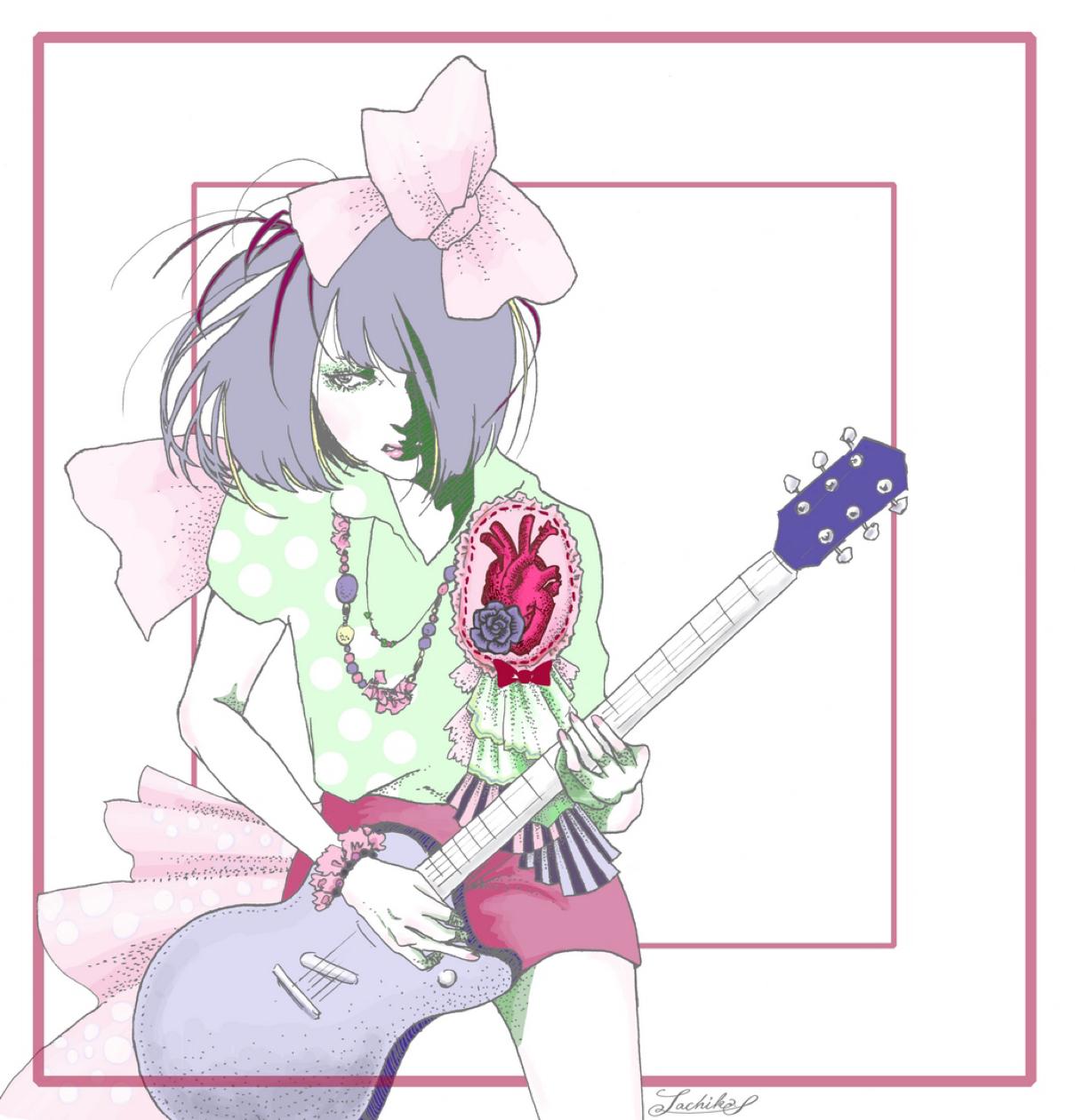 ギターを弾く女の子_f0228652_17453864.jpg