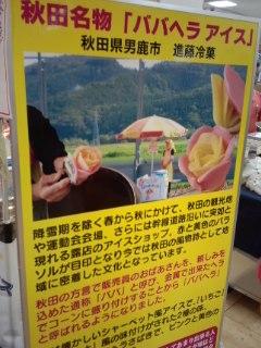 東北展 進藤冷菓のババヘラ・アイス バラ盛り_f0112873_23395814.jpg