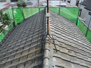 練馬区の北町で、屋根取り替え工事_c0223192_22225894.jpg