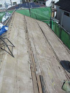 練馬区の北町で、屋根取り替え工事_c0223192_22232840.jpg