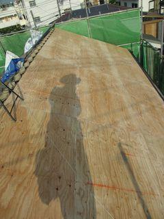 練馬区の北町で、屋根取り替え工事_c0223192_22233269.jpg