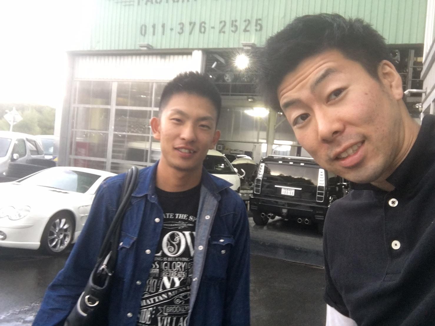 9月14日(木)TOMMY BASE ともみブログ☆カマロ ハマー ランクル_b0127002_10454935.jpg