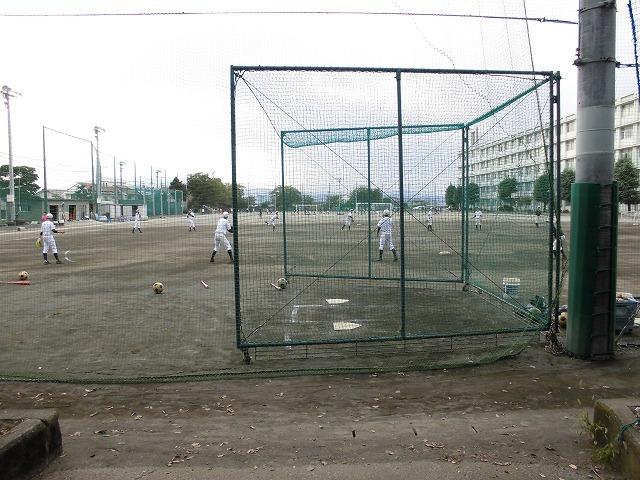 避難所としてお世話になる吉原高校野球部が創部15年目で秋季県大会初出場_f0141310_07402015.jpg