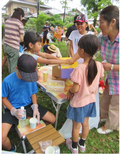 夏祭り☆2017!  小学生クラス(上高野)_f0211514_22162810.jpg