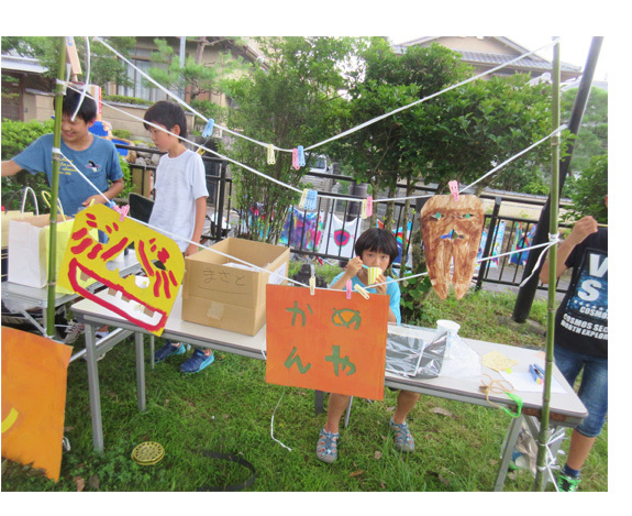 夏祭り☆2017!  小学生クラス(上高野)_f0211514_22180862.jpg