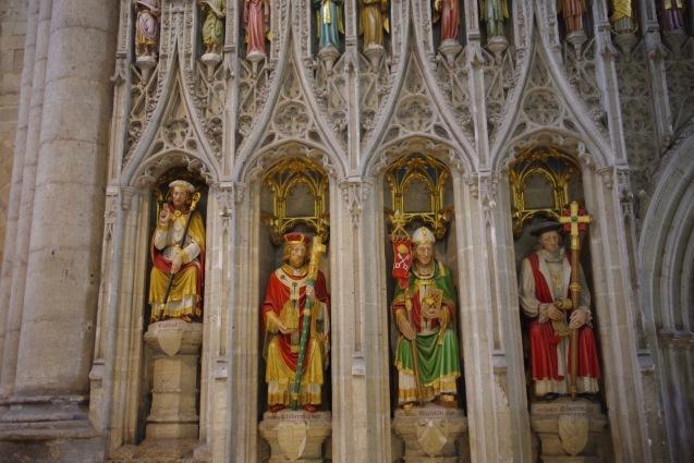 北イングランドの英国ガーデンをめぐる旅その23 マーケットの町リポンとリポン大聖堂、そしてラッパ吹き!(ヨークシャー州)_e0114020_01050356.jpg