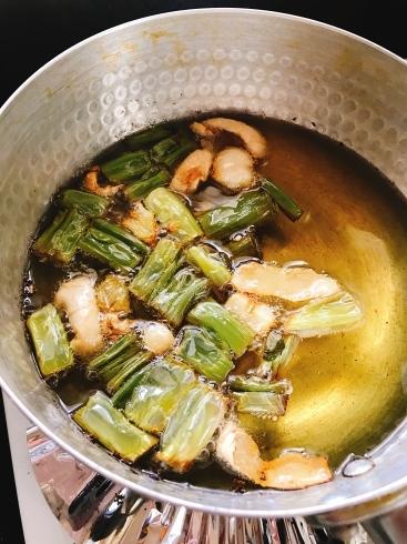 卵麺とねぎ油_a0175348_14242522.jpg