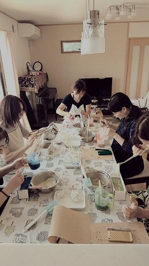 松川町でのせっけん教室。_e0254750_10282537.jpg