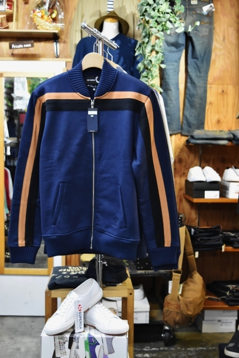FRED PERRY × RAF SIMONS  LINE TRACK JACKET!★!_d0152280_20283005.jpg