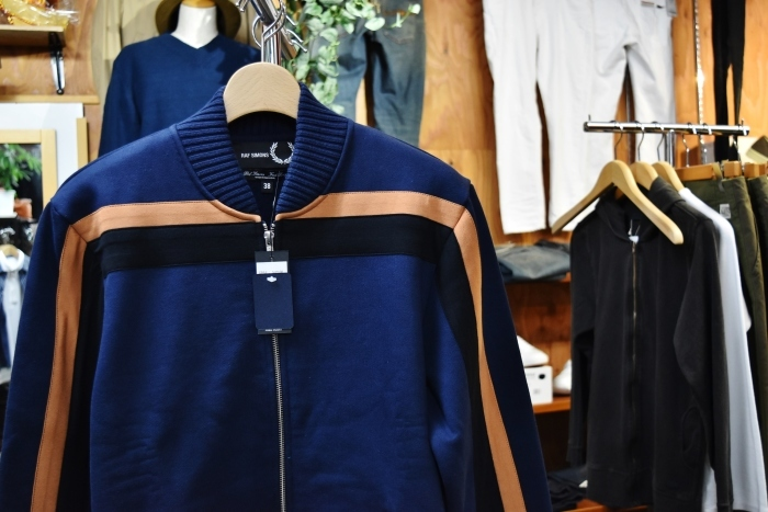 FRED PERRY × RAF SIMONS  LINE TRACK JACKET!★!_d0152280_20295632.jpg