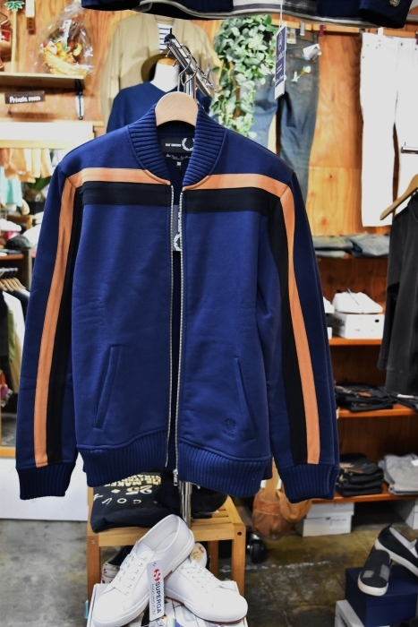 FRED PERRY × RAF SIMONS  LINE TRACK JACKET!★!_d0152280_20305625.jpg