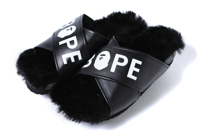 BAPE FUR SLIPPER_a0174495_14442178.jpg