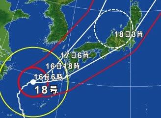 台風18号。_a0300410_21504257.jpg
